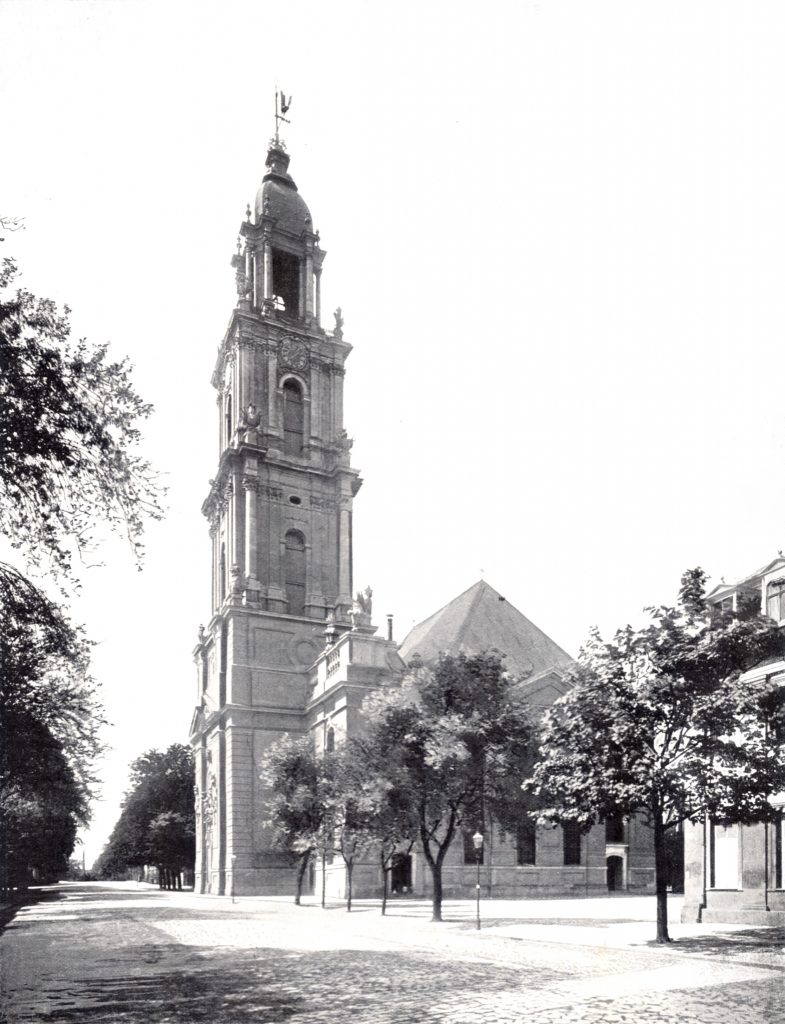 The Potsdam Garrison Church in 1900